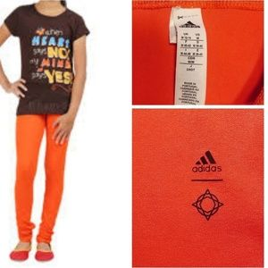 New Adidas Girls Leggings Pant Medium Yoga 12 14